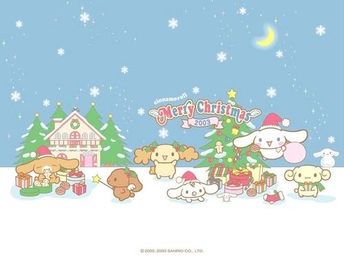 Cinnamoroll Рождество - Small Обои