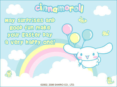 Cinnamoroll Easter E-Card