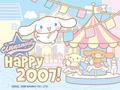 Cinnamoroll New Year 2007 E-Card