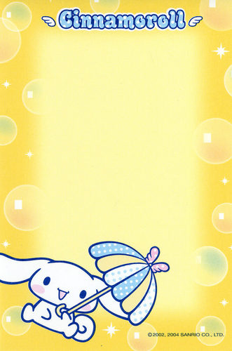 Cinnamoroll Stationery