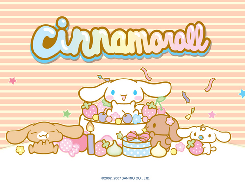 Cinnamoroll wallpaper possibly with anime entitled Cinnamoroll Wallpaper