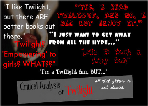 Critical Analysis of Twilight