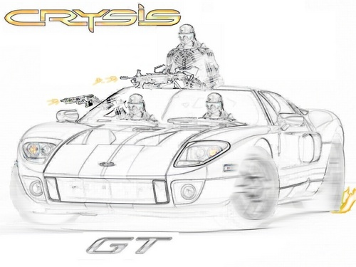 Crysis Ford GT
