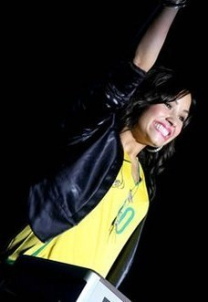Demi in South America!