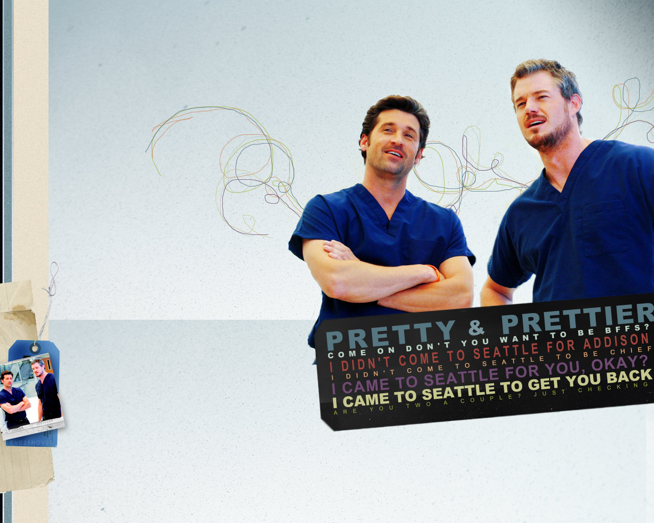 The Guys Of Grey\'s Anatomy images Derek and Mark HD wallpaper and ...