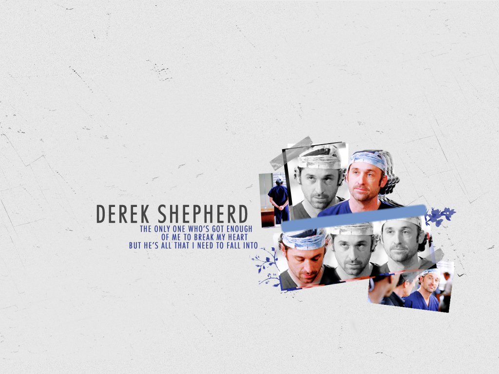 The Guys Of Grey\'s Anatomy images Derek HD wallpaper and background ...