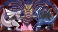 Dialga,Palkia & Giratina - dragon-type-pokemon photo
