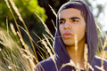 Drake in a field - aubrey-drake-graham photo