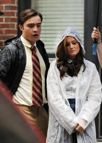 Ed & Leighton On Set