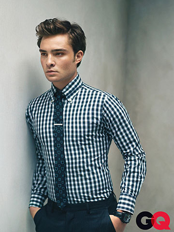 Ed Westwick Previews GQ Fall Fashion
