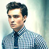 Ed Westwick photo probably containing a portrait titled Ed