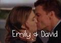 Emily & David Boreanaz