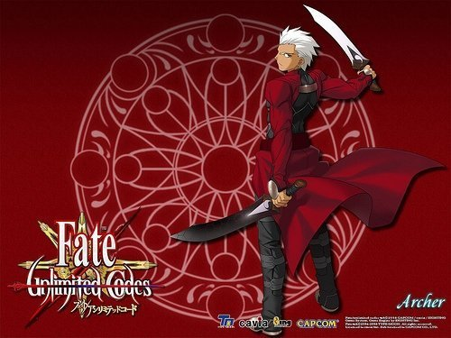 Fate\unlimited codes Обои