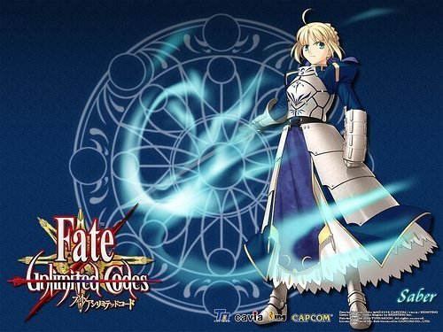 Fate\unlimited codes kertas dinding