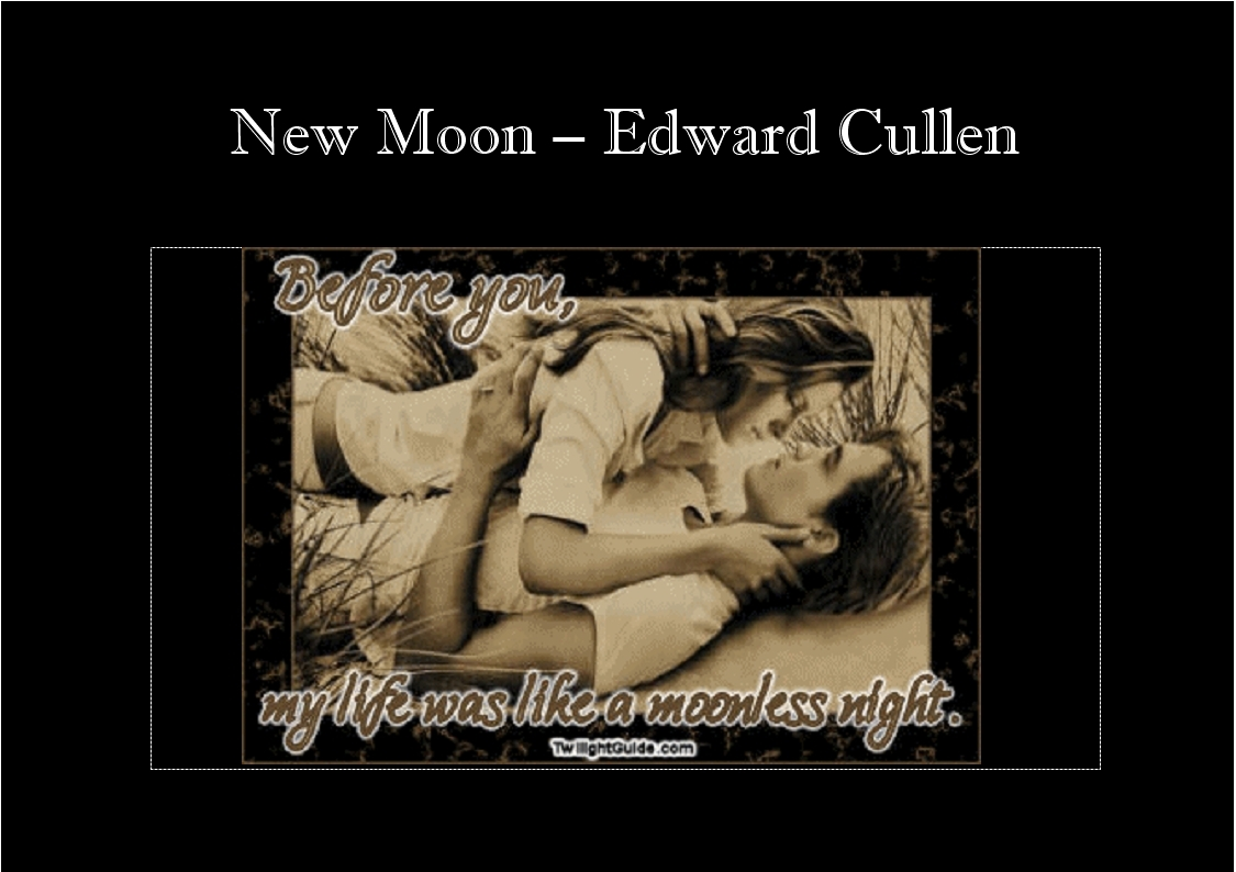 Favourite New Moon Quote Posters