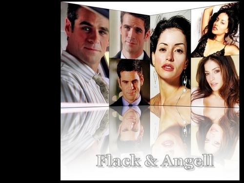 Flangell Flack Angell Hintergrund Don Jess Emmanuelle Vaugier Eddie Cahill