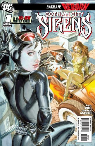 Gotham Sirens #1 variant cover