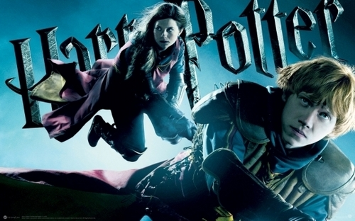 HBP Poster - Ginny and Ron