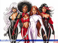 Heroes for hire - femme-fatales wallpaper