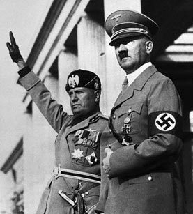 Hitler and Mussolini
