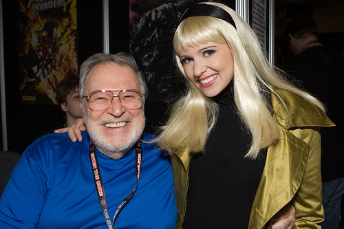 JOHN ROMITA SR & GWEN STACY