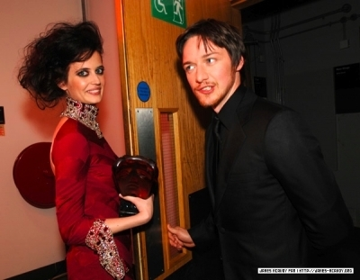 James McAvoy and Eva Green