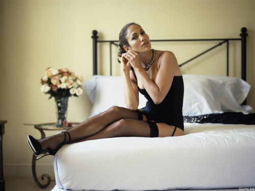 Jennifer Lopez wallpaper probably containing a leotard, a maillot, and a bustier entitled Jennifer