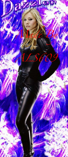 "Kristen ঘণ্টা as Alison Blaire ""Dazzler"""