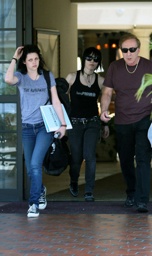 Kristen Stewart and Joan Jett