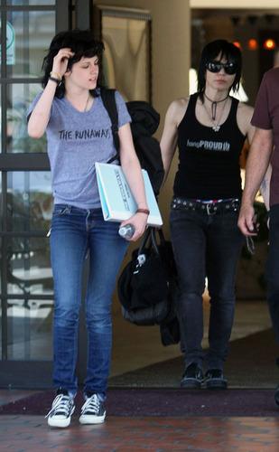 Kristen Stewart and Joan Jett