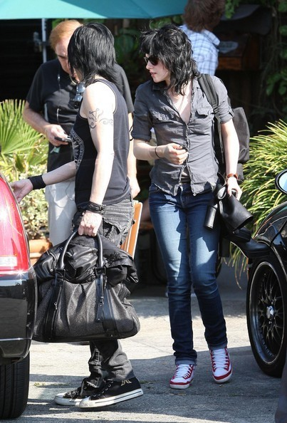 Kristen and Joan Jett