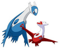 Latios & Latias - dragon-type-pokemon photo
