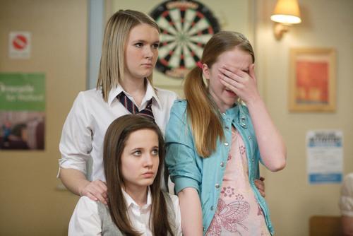 Lucy, Lauren and Abi