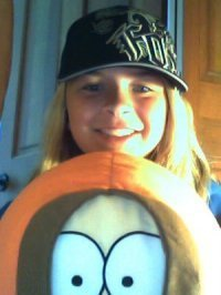 Me and my freakin awesome Kenny plush