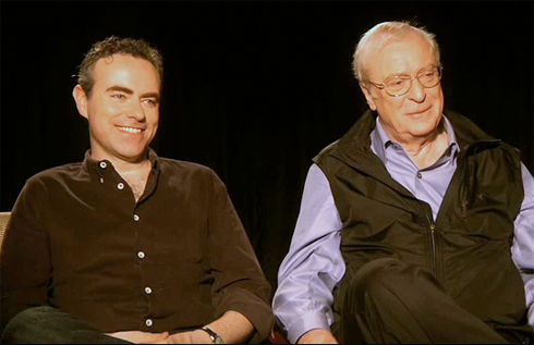 Michael Caine and John Crowley