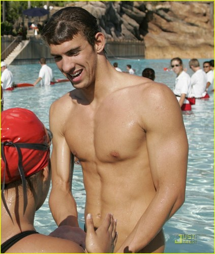 Michael Phelps wallpaper possibly with a bather, swimming trunks, and a water entitled Michael Phelps  57