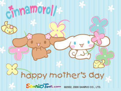 Cinnamoroll Mother's दिन E-Card
