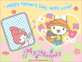 My Melody Father's Day E-Card
