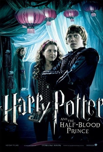 New Harry Potter and the Half-Blood Prince posters