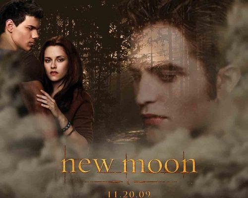 New Moon wolpeyper