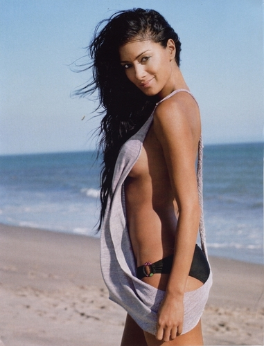 Nicole Scherzinger wallpaper possibly containing a bikini entitled Nicole