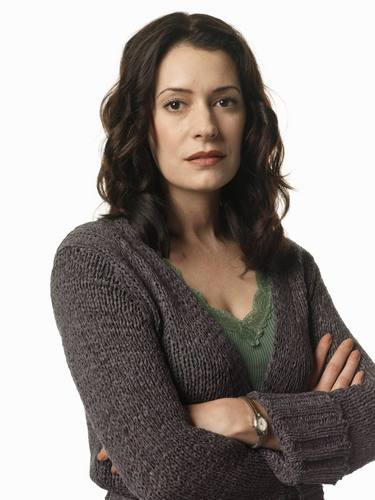 Paget Brewster kertas dinding possibly with a pullover entitled Paget Brewster