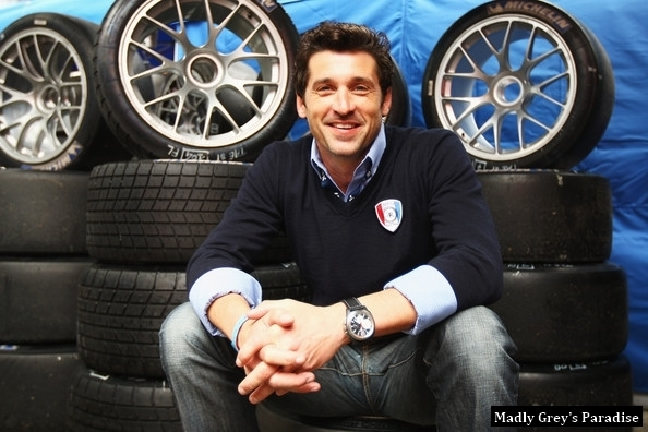 Patrick- Race for Le Mans photoshoot - patrick-dempsey photo