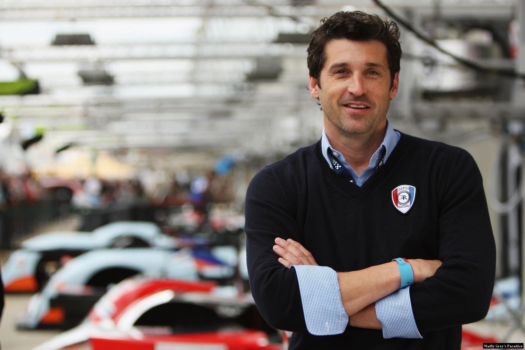 Patrick- Race for Le Mans photoshoot - patrick-dempsey photo