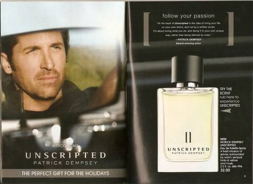 Patrick for Avon cologne- Unscripted