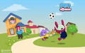 Pet Society Widescreen - playfish-games wallpaper
