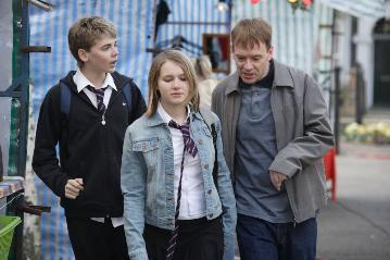 Peter, Lucy and Ian Beale