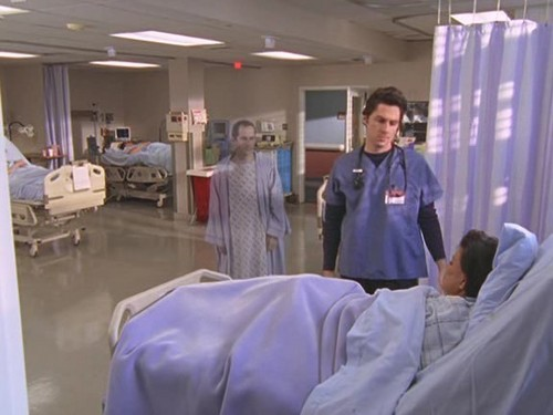 Peter in Scrubs