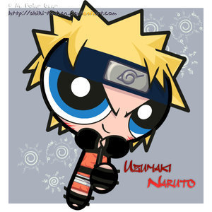Power Puff Naruto