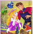 Princess Aurora and Prince Philip